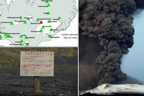 Ισλανδία: Κόκκινος συναγερμός λόγω έκρηξης σε ηφαίστειο
