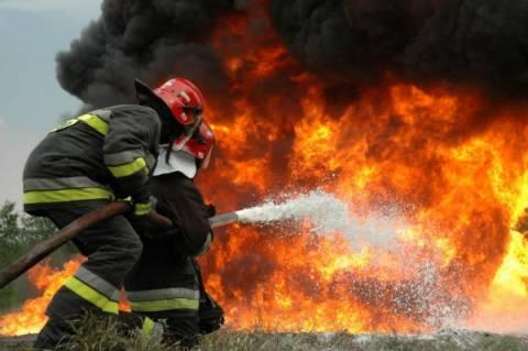 Πυρκαγιά σε εργοστάσιο στο Κορωπί