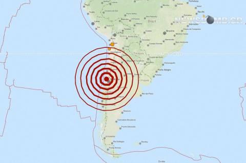 Ισχυρός σεισμός 6,6 Ρίχτερ στη Χιλή