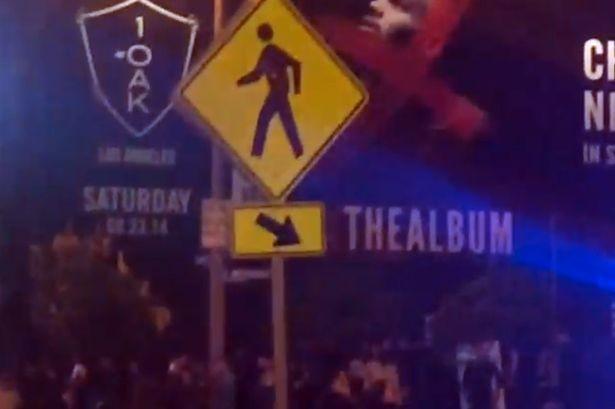 Πυροβολισμοί σε πάρτυ του Κρις Μπράουν – Στόχος ο πρώην της Ριάνα; (vid+phs)