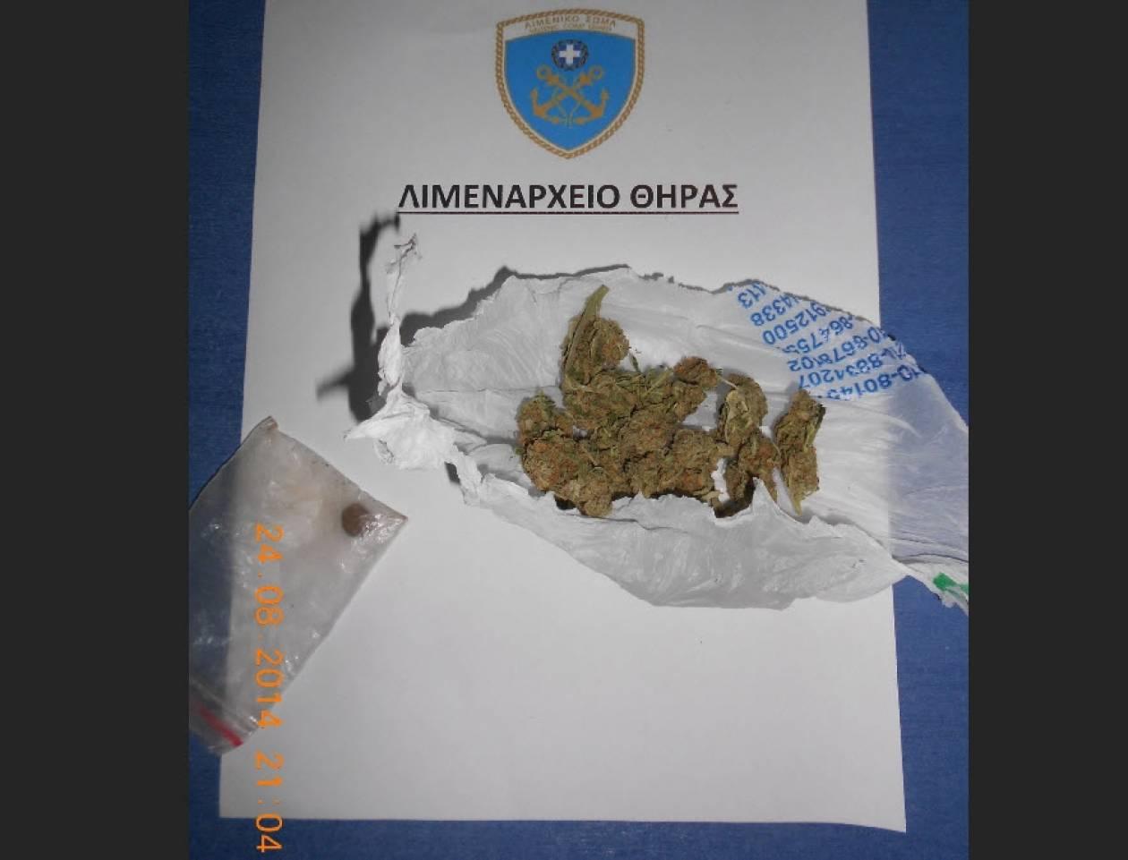 Συλλήψεις για κατοχή ναρκωτικών στη Σαντορίνη