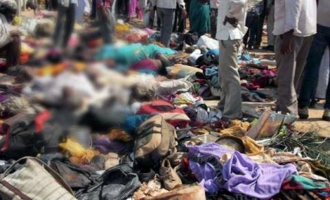 Ινδία: 10 νεκροί σε ναό από τον πανικό που επικράτησε ανάμεσα στο πλήθος