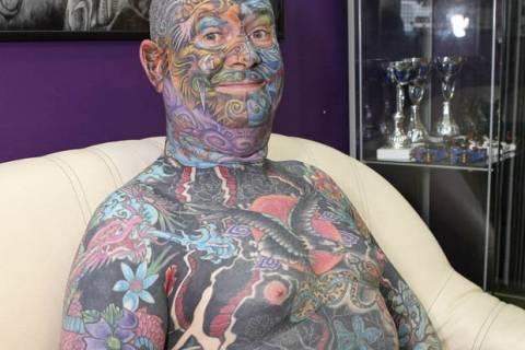 Ο βασιλιάς των... τατουάζ! (pics)