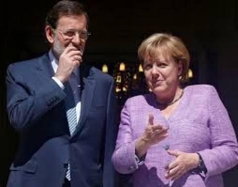 Μέρκελ: Στηρίζει Ισπανία για την προεδρία του Eurogroup