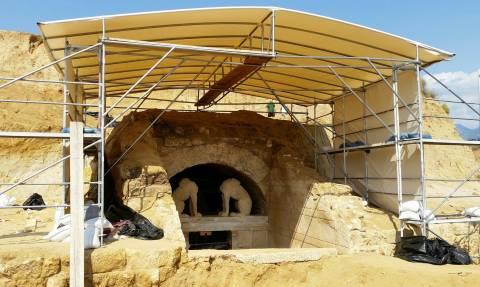 Αμφίπολη: Συνεχίζονται οι ανασκαφές