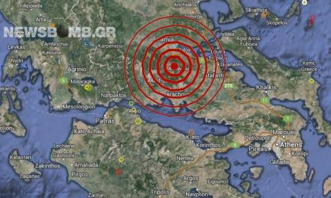 Σεισμός 3,5 Ρίχτερ στην Αμφίκλεια