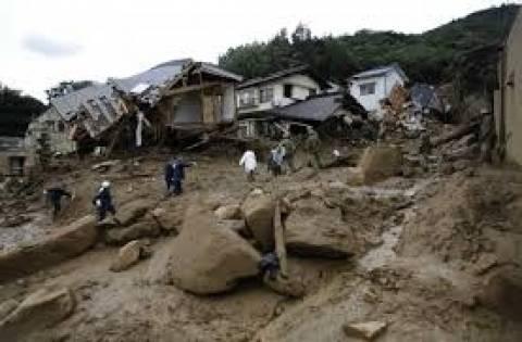 Ιαπωνία: Τουλάχιστον 70 νεκροί από τις κατολισθήσεις