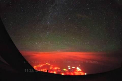 62dffedd13 Τι είναι αυτή η μυστηριώδης κόκκινη λάμψη στον Ειρηνικό Ωκεανό  (pics)
