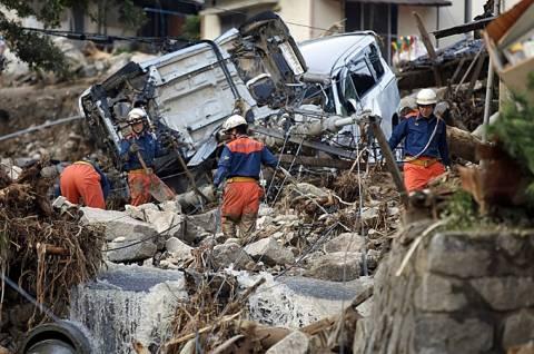 Ιαπωνία: Μεγαλώνει ο αριθμός των θυμάτων από τις κατολισθήσεις στη Χιροσίμα