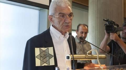 Με το αστέρι του Δαυίδ ο Μπουτάρης – Γιουχαρίστηκε ο Ματθαιόπουλος (video)