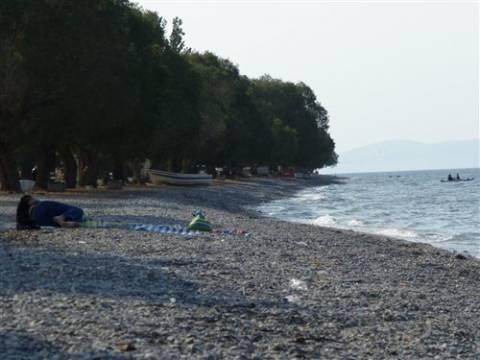 Kάλαμος: Δακρυγόνα με περόνη, στη θαλάσια περιοχή των Αγίων Αποστόλων