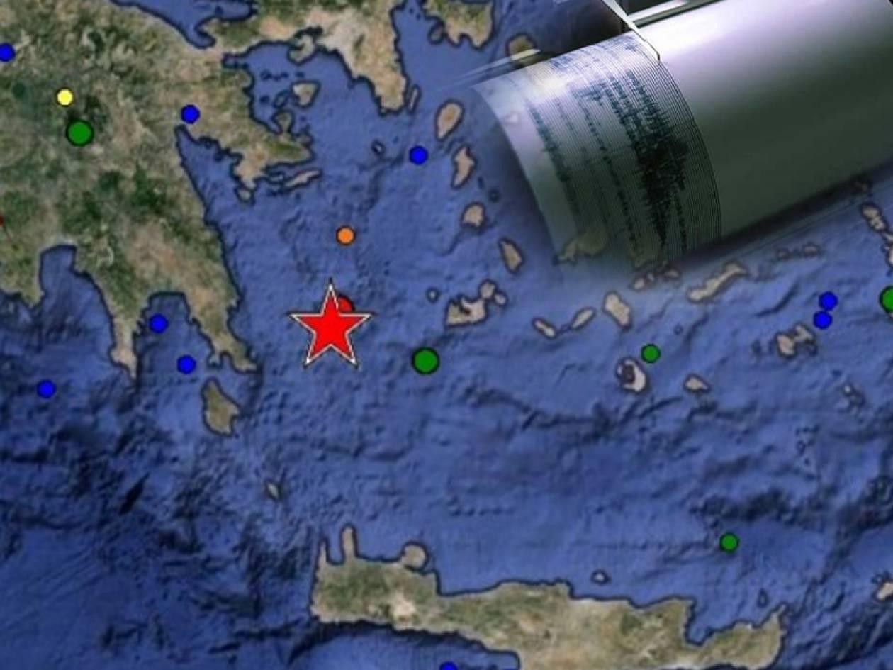 Ισχυρή σεισμική δόνηση μεγέθους 5,7 Ρίχτερ «τρόμαξε» τη μισή Ελλάδα