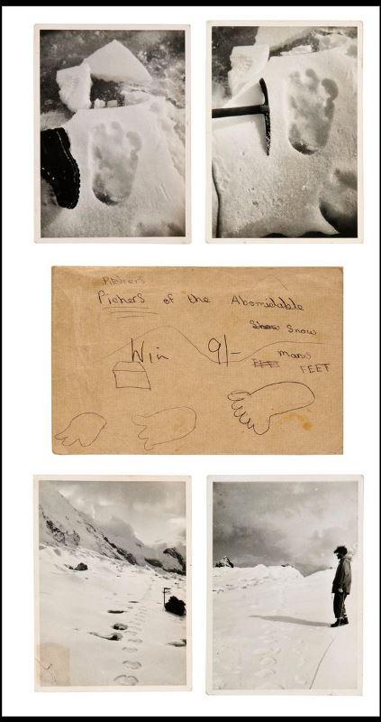 Σε δημοπρασία οι πρώτες φωτογραφίες του Μεγαλοπόδαρου! (pics)