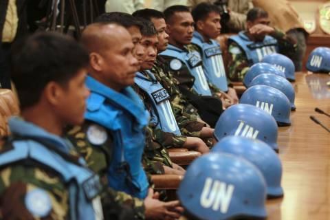 ΟΗΕ: Καλά στην υγεία τους οι απαχθέντες κυανόκρανοι