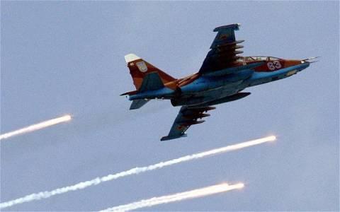 Ουκρανία: Κατάρριψη μαχητικού αεροσκάφους