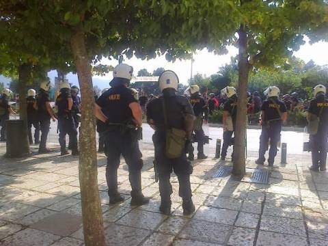 Περιφέρεια Ηπείρου:  Υπό αστυνομικό κλοιό η ορκωμοσία