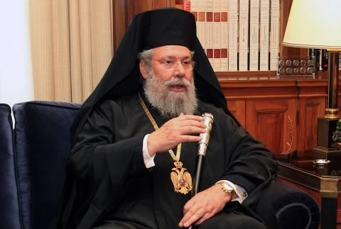 «Χείμαρρος» ο Αρχιεπίσκοπος: Κατάφεραν να καταστρέψουν την οικονομία μας