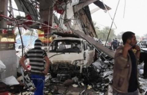 Ιράκ: Δεκάδες νεκροί από επίθεση βομβιστή-καμικάζι