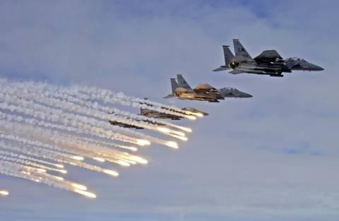 Οι ΗΠΑ ανακοίνωσαν ότι έγιναν νέες αεροπορικές επιδρομές κατά του Ισλαμικού Κράτους