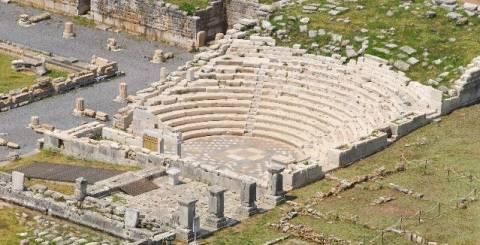 Νέα τμήματα από την αρχαία πόλη έφερε στο φως η φωτιά στην Αρχαία Μεσσήνη