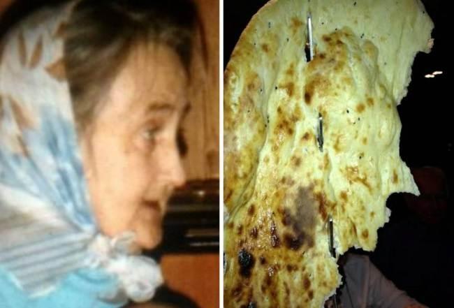 Είδαν την νεκρή γιαγιά τους μέσα στο... ψωμί! (pics)