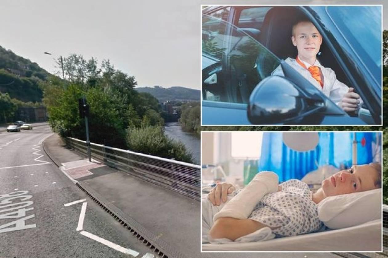 Σοκ: Έριξαν αυτιστικό από γέφυρα και έμεινε παράλυτος (pics)