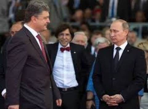 Τηλεφωνική συνομιλία Ποροσένκο-Πούτιν