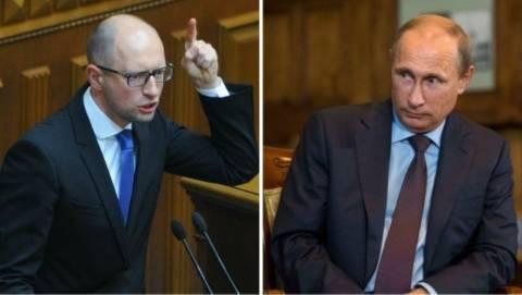 Γιατσενιούκ: Απέρριψε την ειρηνευτική πρόταση του Πούτιν