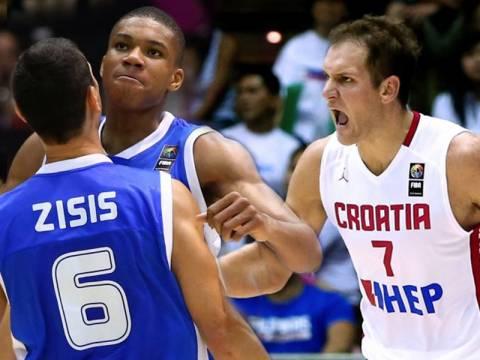 Mundobasket 2014: LIVE Ελλάδα - Κροατία