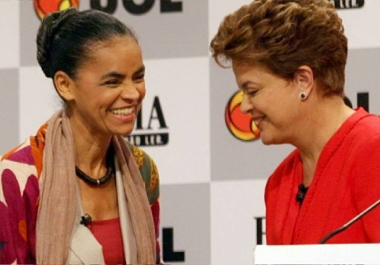 Βραζιλία: Η Ρούσεφ μειώνει τη διαφορά από την Σίλβα σε νέα δημοσκόπηση