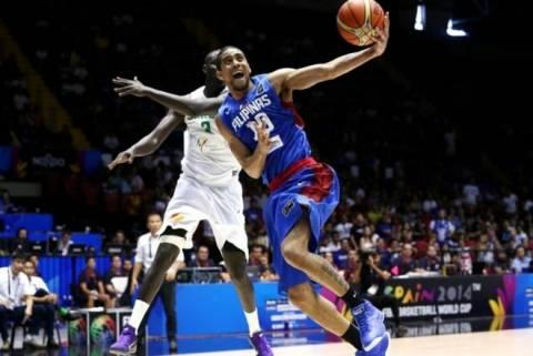 Μουντομπάσκετ: Σενεγάλη - Φιλιππίνες 79-81