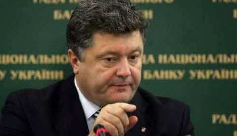 Ουκρανία: Συγκρατημένα αισιόδοξος ο Ποροσένκο