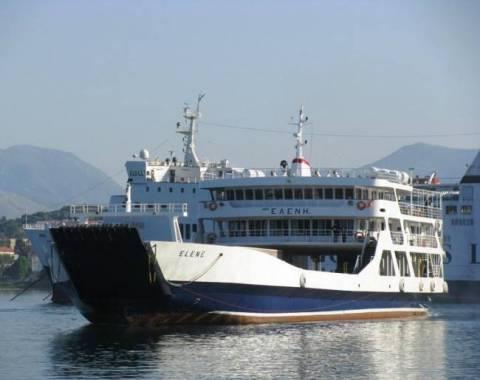 Μηχανική βλάβη σε επιβατικό πλοίο στην Κέρκυρα