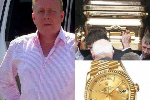 Βρετανία: Το «χρυσό» αντίο σε αρχηγό γκανγκστερικής συμμορίας