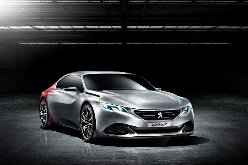 Concept Peugeot Exalt (photos)