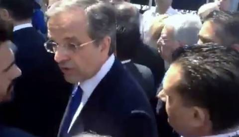 ΔΕΘ: Η απίστευτη απάντηση Σαμαρά σε πολίτη που του είπε «πεινάμε Πρόεδρε!» (vid)