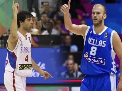Mundobasket 2014: Live Σερβία - Ελλάδα