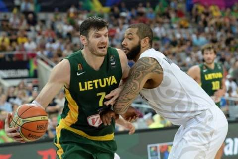 Μουντομπάσκετ 2014: Νέα Ζηλανδία - Λιθουανία 71-76