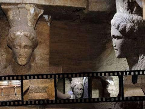 Αμφίπολη: Τι δείχνουν και τι... κρύβουν οι Καρυάτιδες