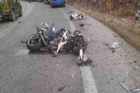 Παραλίμνι: 18χρονος μοτοσυκλετιστής «καρφώθηκε» σε κιγκλίδωμα