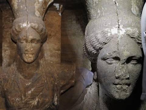 Αμφίπολη: Ποιον προστάτευαν οι δύο Καρυάτιδες;