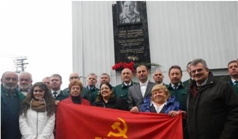 Μνημείο για τον Νίκο Ζαχαριάδη στο Σουργκούτ της Σιβηρίας