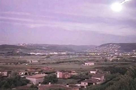 Φλεγόμενο UFO αναστάτωσε την Ισπανία! (videos)