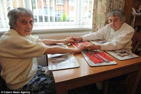 Δίδυμες αποφάσισαν να χωρίσουν μετά από 96 χρόνια (pics)