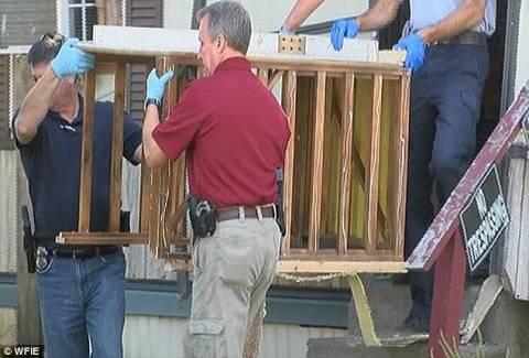 Απαγωγείς κρατούσαν αιχμάλωτη γυναίκα σε κλουβί! (pics)