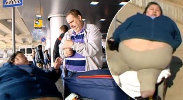 Συμβιβασμός τριών αεροπορικών με το χήρο υπέρβαρης γυναίκας (pics)