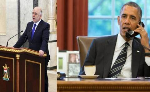 Ομπάμα και αλ-Αμπαντί συζήτησαν για την αντιμετώπιση του Ισλαμικού Κράτους