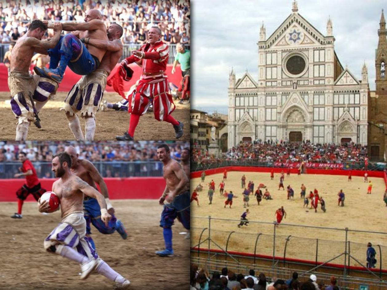 Calcio Storico: Το πιο σκληρό άθλημα του κόσμου (photos+vid)