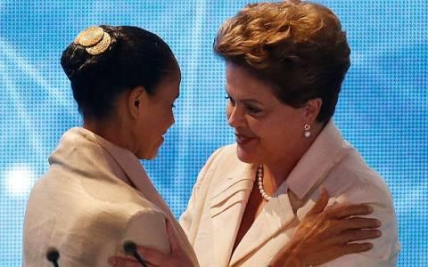Βραζιλία: Η Ρούσεφ μειώνει τη διαφορά της από την υποψήφια της αντιπολίτευσης Σίλβα