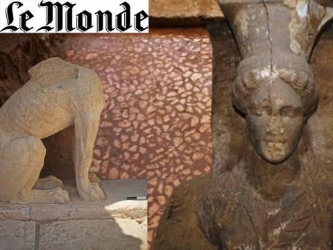 Αμφίπολη: Αφιέρωμα της «Le Monde» - «Πρόκειται για μία σπάνια ανακάλυψη»